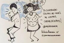 Minhas Ilustrações / Ilustrações sobre Maternidade por Patricia Azevedo.