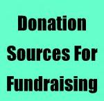 Donation and fundraising