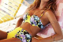 Mostly bikinis, beach wear, swim wear, one pieces, sun, sand, beach dreamin...