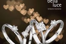 """Solitaire Diamantschmuck / Solitaire Diamantschmuck von bellaluce aus Deutschland ist besonders. Den ein Solitair-Ring sagt mehr als tausend Worte... """"Solitaire - World of Diamonds"""" Ein wirklich besonderer Diamantring."""