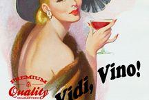 MULIERES VINORUM FATES / Wine posters 2008-2015 / 70 x 100 cm