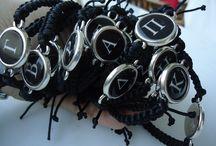 """""""Monogram"""" / bracelet with your monogram"""