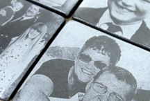 Personalised Slate Gifts / Here at Scotland's Bothy we can engrave your photos onto slate, we can make for you fantastic slate coasters and plaques using your own photographs to create that unique personalised special gift for someone. These make ideal gifts for almost any occasion such as Weddings, Anniversaries, Birthdays, Retirements, New Borns, Leaving Gifts, Graduations, Memorials, Awards, Pet Photos