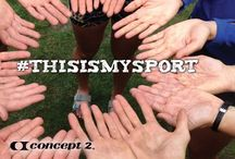 #ThisIsMySport / Tag your best #ThisIsMySport April 1-30, 2015 to enter our contest and win! concept2.com/news/thisismysport