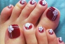 Toe Nail Art / Toe is a special part of our body. They also need care and you can make them beautiful too.