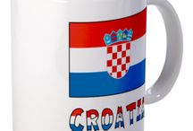 Croatia from Auntie Shoe / Stuff about Croatia. Designs on products probably created by Auntie Shoe.