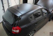 BMW 1 - black matt