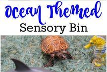 sensory - sea / land environment
