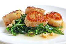 seafood mmm / by Marnie Loken