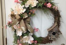 dekorácie na dvere