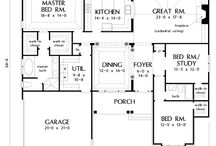 Fantastic floor plans  / by Doreen Cassotta