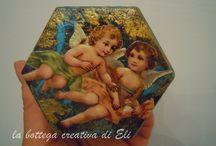 la bottega creativa di Eli -- cofanetti, scatole e contenitori vari / creazioni dal mio blog http://labottegacreativadieli.blogspot.it/