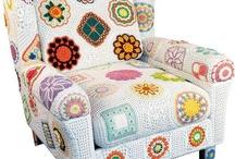 Muebles a crochet