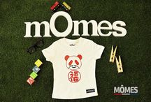 MÔMES website / All our funky organic Tshirts in one glance!