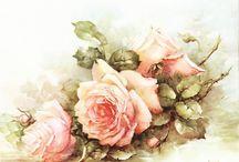 Vintage virágok