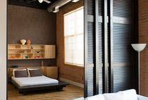 Ściana sypialnia lazienka