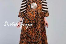 model batik
