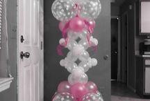 balloon colonnina
