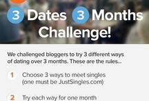 3 Dates 3 Months / Meet the 3 Dates 3 Months Challengers!  / by Just Singles