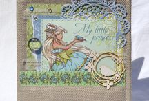 скрап-бумага с феями