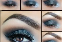oczy makeup