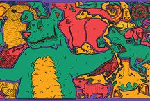 Belle illustrations / Belle's werk dat past bij zuurkool