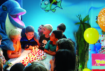 Birthday Parties with our Dolphins! / Everybody loves a unique #BirthdayParty , come #celebrate with our #dolphins!  Book your celebration party today and we will make sure your child enjoys a memorable time! To book: edep@dubaidolphinarium.ae