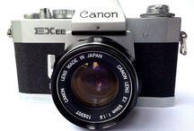 Canon EX Auto QL 35mm SLR Film Camera From Japan