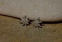 tiny minimalist minnie organic sterling silver earrings jewelry