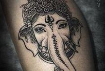 Ganesha-Tattoo