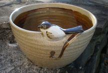Pottery Knitting Bowls