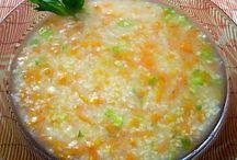 Przepisy / Zupa z kaszą jaglaną