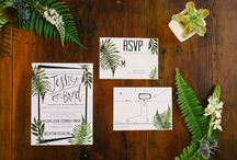 Green Themed Wedding / Dedicated to foregoing flowers, and focusing on foliage!