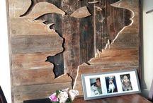 Obrazy drewno