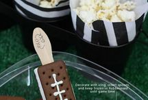 Football Party / Need some ideas for a football party, like Superbowl?