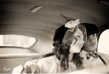 Photography Ideas - Retro Style Engagement Photos / inspiration for vintage and retro photo sessions