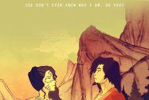 Avatar: The Last Airbender; Avatar: The Legend of Korra. / Some avatar stuff here idk