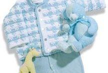 ropa bebé a Crochet