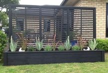 Privacy screen and Fences