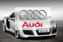 Audi / Audi AG designs, engineers, manufactures and distributes automobiles and motorcycles.   Audi oversees worldwide operations from its headquarters in Ingolstadt, Bavaria, Germany. Audi-branded vehicles are produced in seven production facilities worldwide.  Audi has been a majority owned (99.55%) subsidiary of Volkswagen Group since 1966, following a phased purchase of AUDI AG's predecessor, Auto Union, from Daimler-Benz.