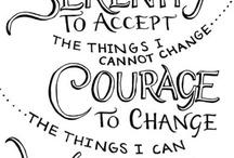 Serenity / Serenity + Courage + Wisdom