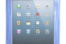 iPad Mini Waterproof Case – with Screen Protector – Blue / iPad Mini Waterproof Case designed for the iPad mini but can fit any tablet PC that needs protection and fits in this case (see dimensions). Screen protector also included.