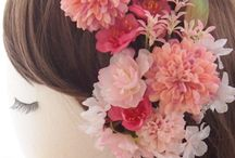 【ぽると】花飾り