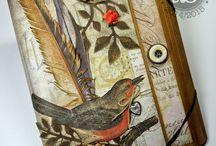 Altered Tim Holtz folio / by Susan Hirsch