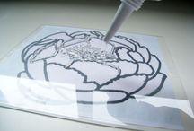 Crafts - Stamping, printing, embossing, dyeing