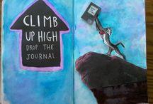 Scrap Book Ideas / Journal & art inspiration