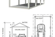 Carports / A place to park your car