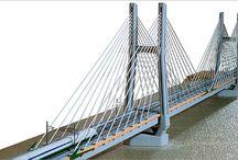 Ponte TAV sul Po (PC) , scala 1:200