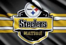 Steelers Board 2 / Why...because there is never enough Black & Gold!!! GO STEELERS / by Tom Shelley