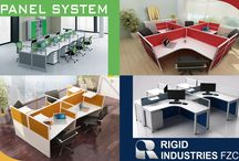 Office Panel System Products / While choosing the perfect desk for you, you also have to keep in mind your working habits. Are you a neat freak type, with perfect organised skills, or creative – messy types, with files and folders scattered on the desk. Rigid Industries Fzc Dubai.